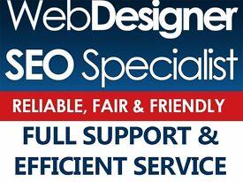 Friendly & Reliable Freelance Web Designer & SEO Specialist With Impressive Portfolio.