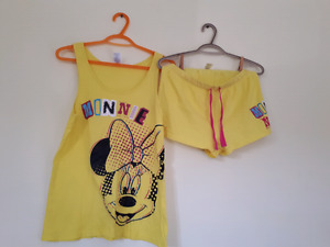 Tank top top and bottom sleepwear Minnie  mouse