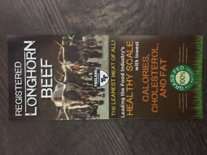 100% GRASSFED TEXAS LONGHORN BEEF FOR SALE