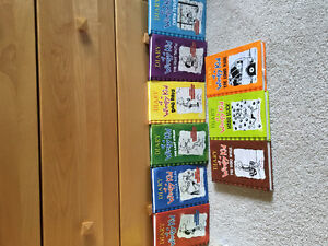 Diary of a Wimpy Kid books 1-9
