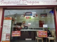 CHINESE HOT FOOD TAKAWAY & DELIVERY IN HAMMERSMITH FOR QUICK SALE (1.1),REF:RB258