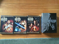 Star Wars DVD episodes 1 - 6