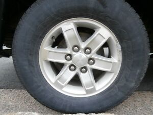 WANTED 1 or More Alum  Rims from 2010-14 GMC Sierra