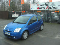 2005 CITROEN C2 SX 1.1L ONLY 94,917 MILES, IDEAL 1ST CAR, LOW INSURANCE GROUP