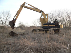 HY Hoe excavator need repair