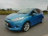 FORD FIESTA ZETEC S SUPER LOW MILEAGE FULL HISTORY NEW CAMBELT KIT