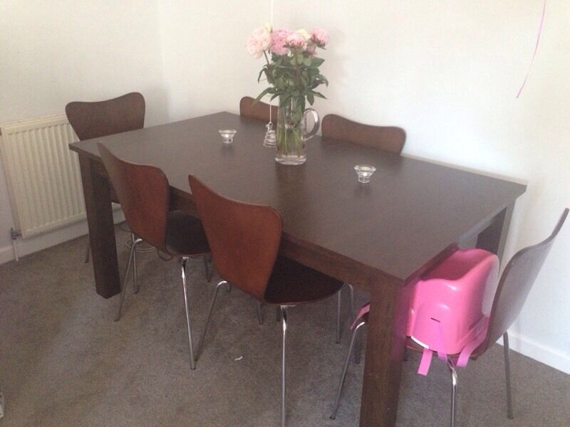 Next extendable dining table and 6 chairs in Exmouth  : 86 from www.gumtree.com size 800 x 600 jpeg 48kB