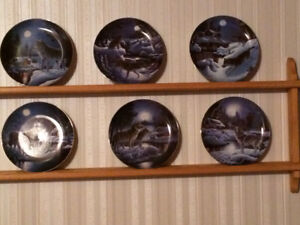 Nightwatch-The Wolf-Collector plates