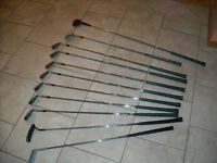 GOLF CLUBS + BAG-BATONS DE GOLF + SAC(ALL OF THEM)
