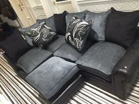 Littlewoods ex display corner sofa,excellent condition.