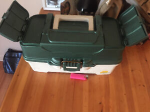 Large fishing Tackle box -good condition