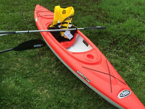 For sale **KAYAK with paddles**