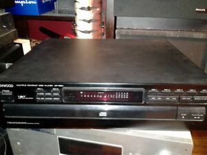 Kenwood 5 Disc CD Player