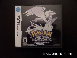 Nintendo DS - Pokemon Black Version & Pokemon Black 2 Version