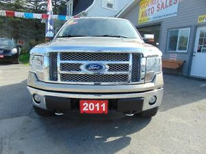2011 Ford F-150 SuperCrew Lariat 4x4 Kawartha Lakes Peterborough Area image 2