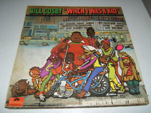 Bill Cosby When I Was A Kid Vinyl