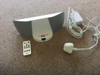 iPod docking speaker station