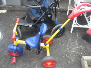 Little Tikes  Bike with Push handle