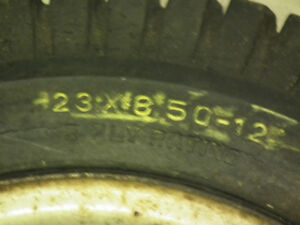 LAWN TRACTOR TIRES ON RIMS  23 X 850 X 12 Windsor Region Ontario image 2