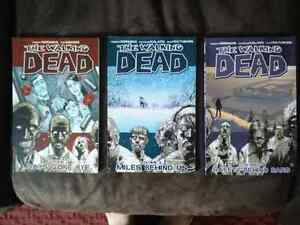 Walking Dead 1-3 graphic novel; considering all offers