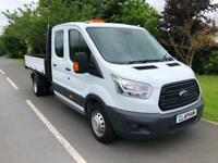 2016 66 FORD TRANSIT TIPPER 2.2TDCi 125BHP RWD 350 L3H1 1 OWNER ANY UK DELIVERY