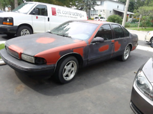 1996 impala ss part out or project Lt1 350 5.7 4l60