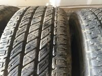 set of tires (265/60r18)