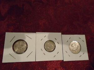 20 pieces de monnaie de Cuba Intur