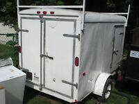 2007 ENCLOSED INTERSTATE CARGO UTILITY TRAILER