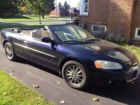 2002 Sebring Convertible for sale!! Cornwall area