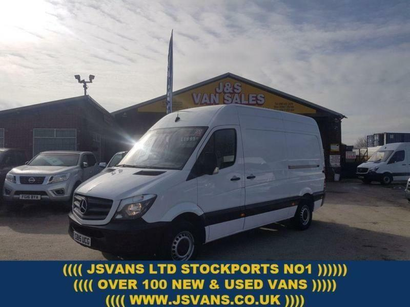 56c7b27fd7 2015 15 MERCEDES-BENZ SPRINTER 313 CDI M.W.B HITOP 2015 15 REG ONLY 83000  MLS 1