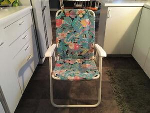 3 chaises de jardín