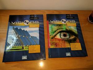 Visions (mathématique technico-sciences) 5e Secondaire