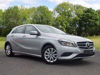 Mercedes-Benz A CLASS 1.5 A180 CDI SE 7G-DCT 5dr (silver) 2014