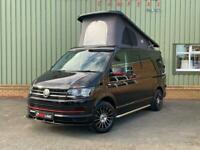 VW T6 Redline Sport Camper, Black Campervan
