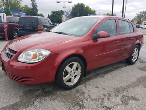 2010 CHEVROLET COBALT LT EXTREMELY LOW KMS, FULLY CERTIFIED