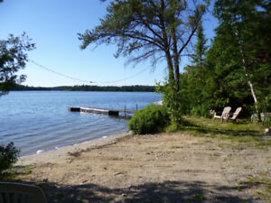 Lake Front Near Kenora Drive Up to Door on a Quiet Private Lake
