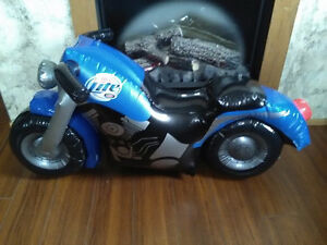 Rare Miller lite inflatable motorcycle.....