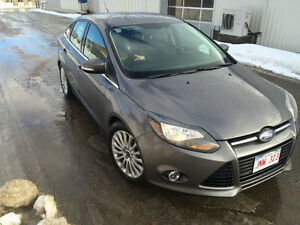 2012 Ford Focus Titanium Sedan 120 Km