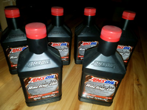 6 Liters of 300kms used 10w30 Dominator racing oil