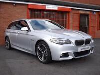 2011 11 BMW 5 SERIES 520D M SPORT TOURING 2.0 5D AUTO 181 BHP DIESEL