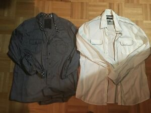 MEN'S BRAND NAME BUTTON UP SHIRTS - $10 EACH OR $80 FOR ALL 12 London Ontario image 6