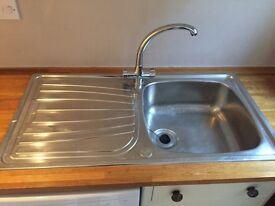 Franke sink and tap (used)