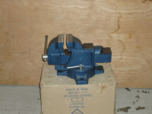 "Tools - 4"" Heavy duty Swivel Base Vise"