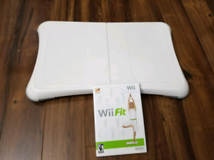 Wii fit bundle for nintendo wii