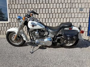 2001 Harley Fatboy-Low KM's-$10,750 or Best Offer