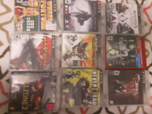17 Sony PS3 Games for sale