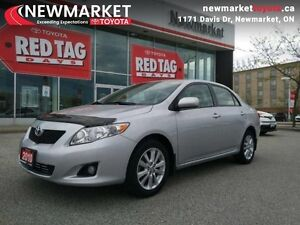 2010 Toyota Corolla LE   - one owner - trade-in - non-smoker - $