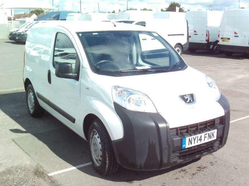 Peugeot Bipper 1.3 HDI SWB 75PS DIESEL MANUAL WHITE (2014)