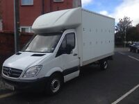 2008 57reg Mercades Sprinter Luton 2.1 311 Cdi White Long Wheel Base